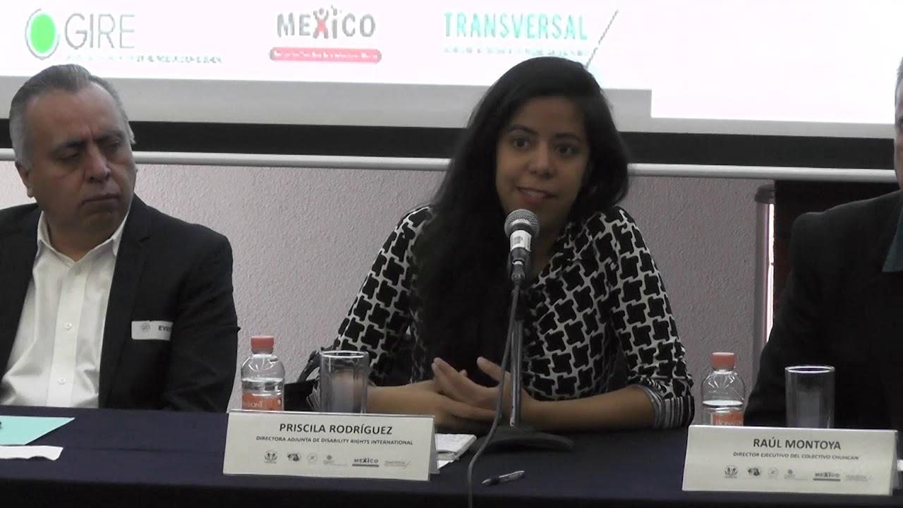 Priscila Rodriguez Dir. Disability Rights internatational 4/10