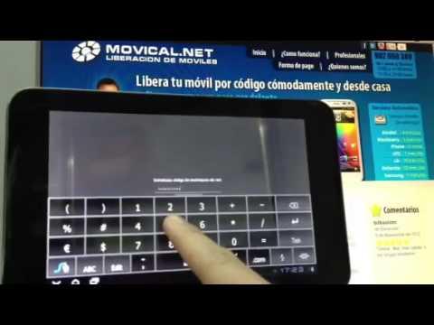 Liberar vodafone smart tab 7 desbloquear vodafone smart - Movical net liberar ...