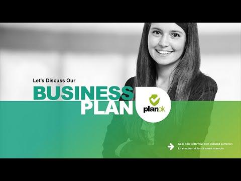 Business Plan Powerpoint Presentation - YouTube