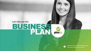 Plan D'Affaires Présentation Powerpoint