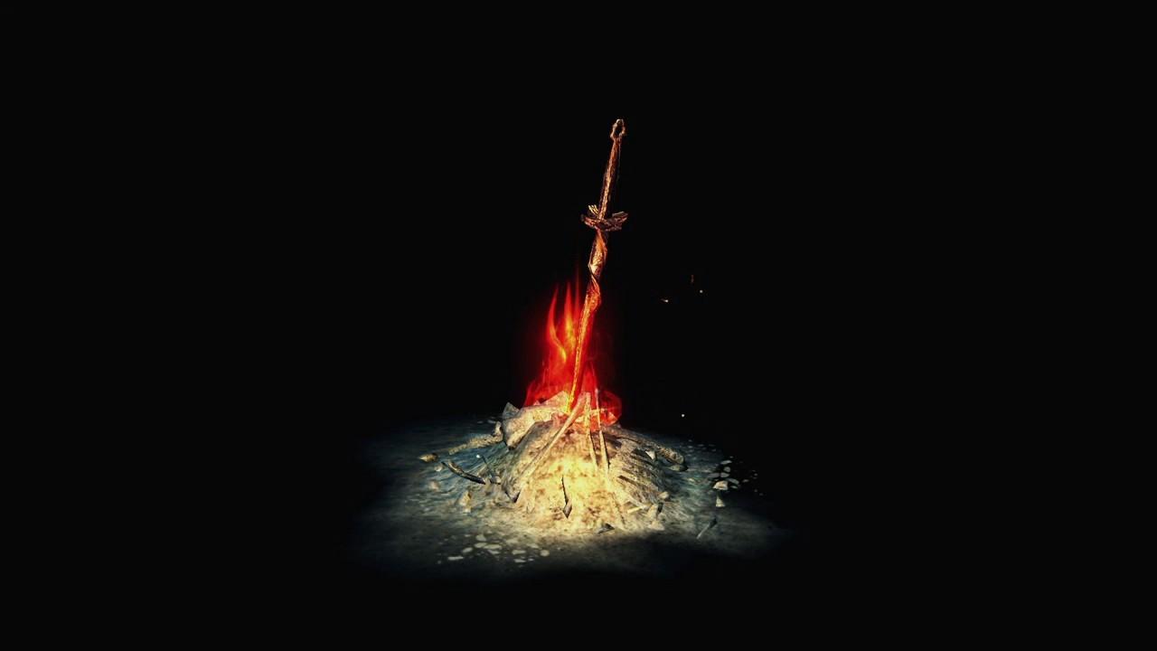Dark Souls Yule Bonfire Unkindled Youtube