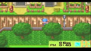 Harvest Moon - Friends of Mineral Town - Vizzed.com GamePlay Pt: 3 Mary