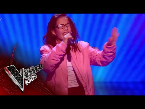 Natasha Performs Sorry Not Sorry: Blinds 1  The Voice Kids UK 2018