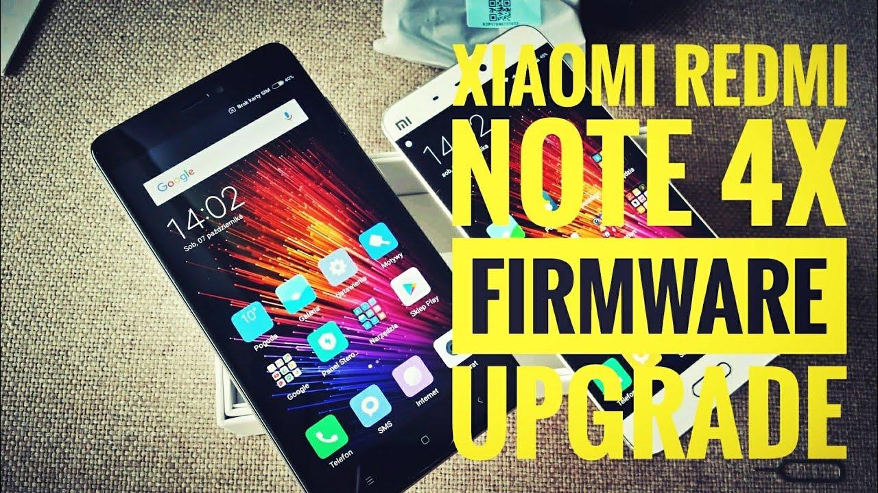 cara update android oreo di xiaomi redmi note 4x