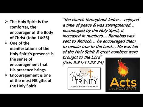 Pentecost Bible Study: The Acts of the Holy Spirit:  Session 4