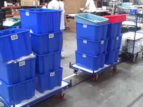 Automated Guided Vehicles - AGC / AGV Systems By Creform Corporation
