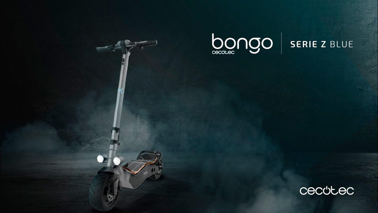 Patinete eléctrico Bongo Serie Z Blue - YouTube
