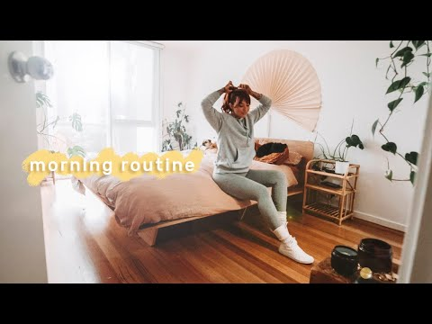 Quiet Morning Routine 🌿 staying healthy & motivated
