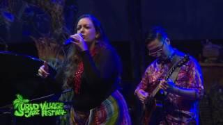 NIAL DJULIARSO & LAURA BRUNNER (2) Live at UBUD VILLAGE JAZZ FESTIVAL 2015
