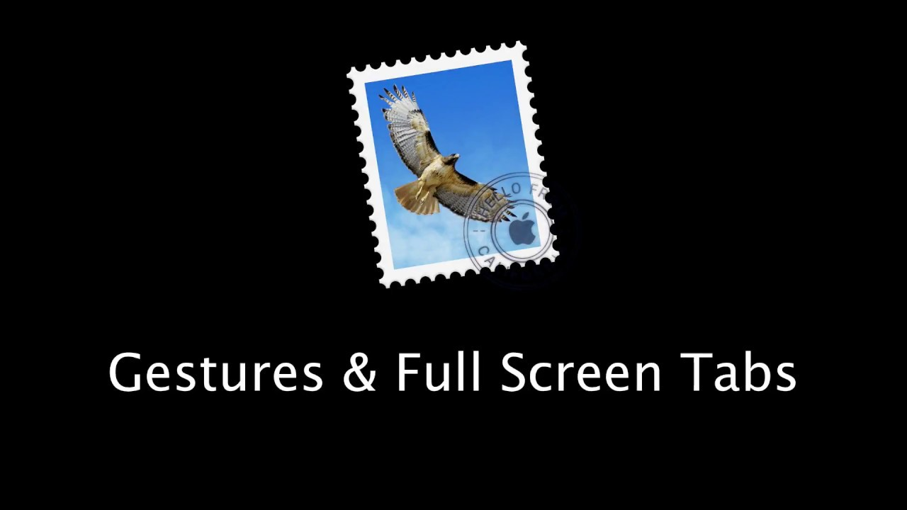 Mac os x mail multiple thread whole email attachments tutorial.