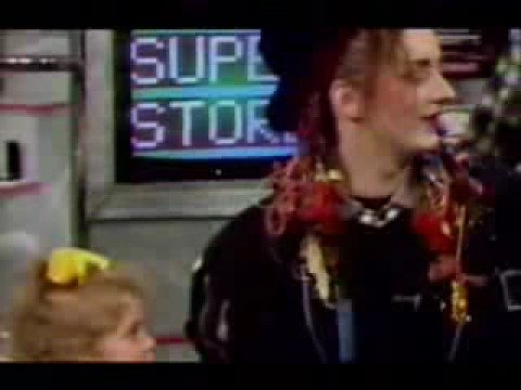 Funny Clip about Boy George and Natalie Casey