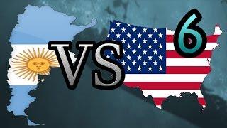 Argentina vs USA [6] Hearts of Iron IV HOI4