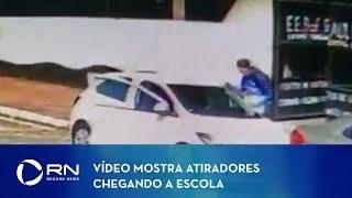 Vídeo mostra atiradores chegando a escola de Suzano