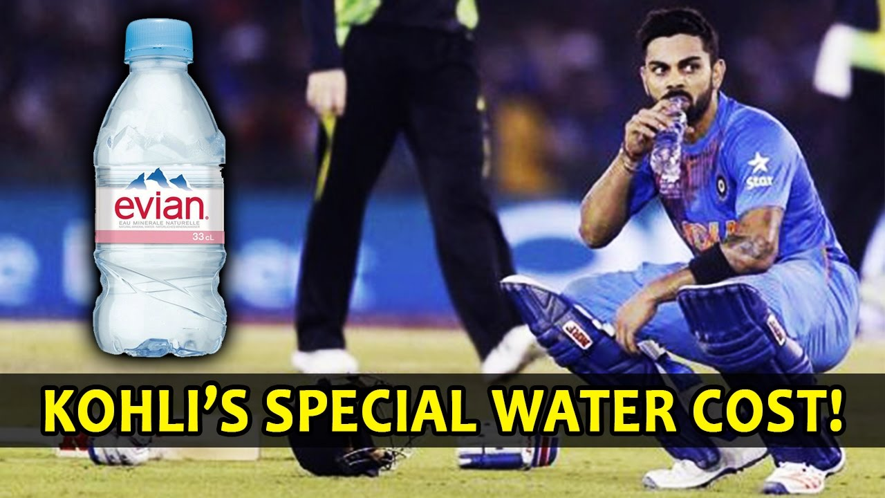 Virat Kohli Drink S This Special Secret Water From France Not Affordable Maintains His Fitness