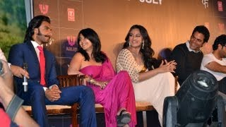 Ranveer Singh & Sonakshi Sinha at the Lootera Trailer Launch