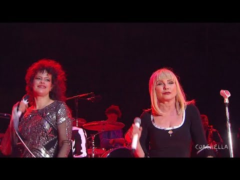 Arcade Fire & Debbie Harry (Blondie) - Heart of Glass + Sprawl II (Coachella 2014)