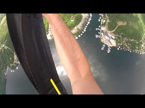 sea plane jump at Coconuts in Summer