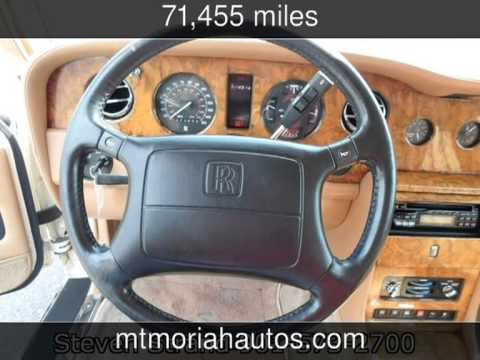 Mt Moriah Auto Sales >> 1996 Rolls Royce Silver Dawn Used Cars - Memphis,Tennessee - 2013-08-26 - YouTube