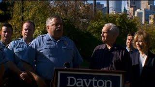 Police Officers Federation Of Mpls. Endorses Gov. Dayton