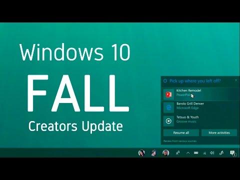 NUEVO WINDOWS 10 Fall Creators Update, ¡TOP 5 Novedades!