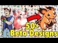 50+ New Beta Pokémon Designs | Space World 1997