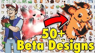50+ New Beta Pokémon Designs | Space World 1997