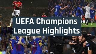 2017/2018 Champions Leage: Watch Highlights And Results Of The UEFA Champions League Matches