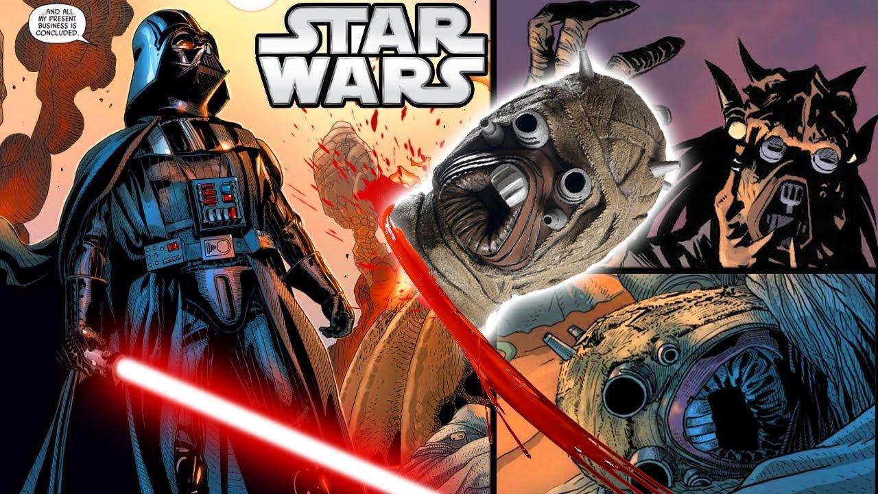 How Darth Vader Returned To Kill The Tusken Raiders Canon Star