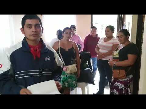 Communities affected by the hurricanes en Guatemala Comunidades afectadas por huracanes en Guatemala