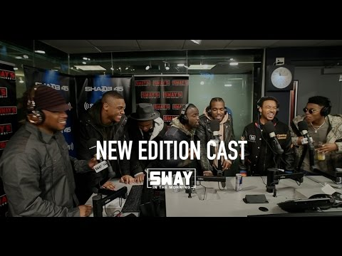 The New Edition Cast Interview + DOPE Freestyle Battle on Sway in the Morning