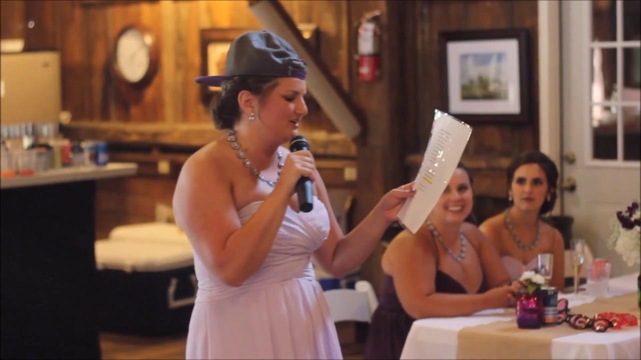 Maid of Honor Speech - YouTube