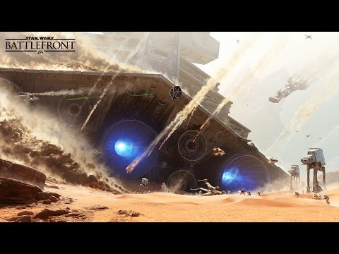 Albert Ross live streaming Star Wars: Battlefront. Bactabombed my infected finger we good now!