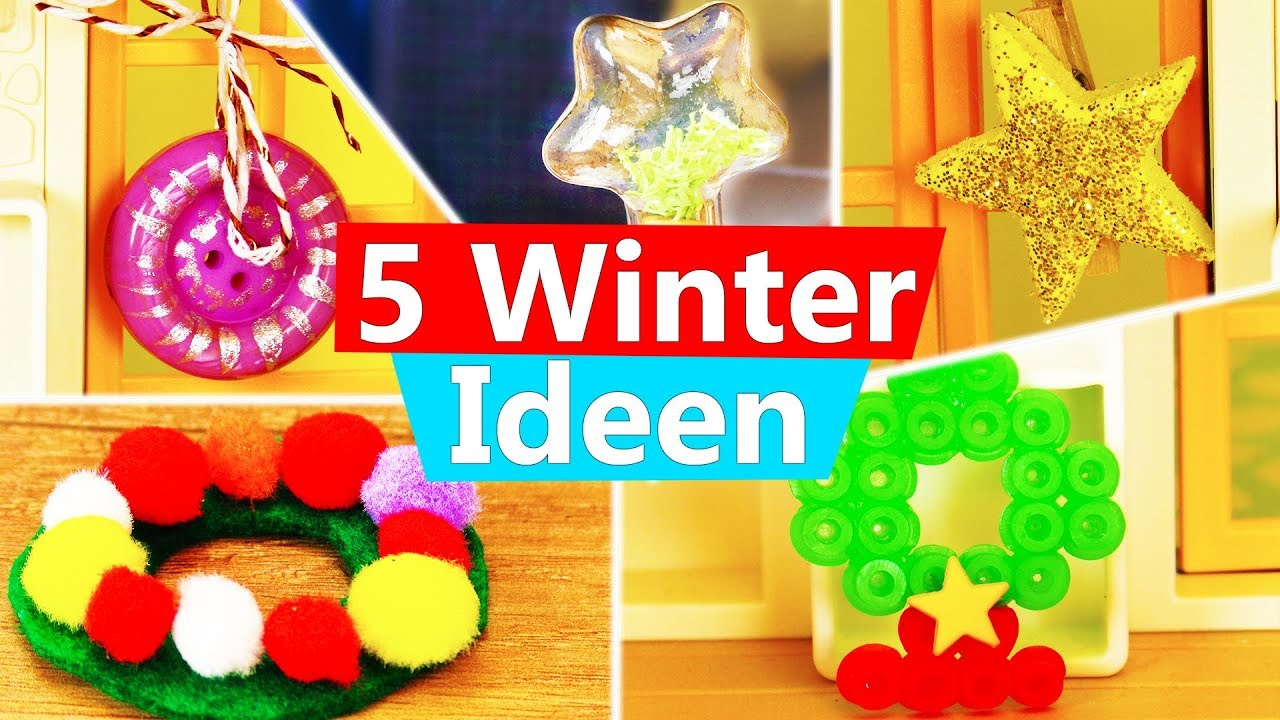 playmobil basteln 5 ideen f r weihnachten winter. Black Bedroom Furniture Sets. Home Design Ideas