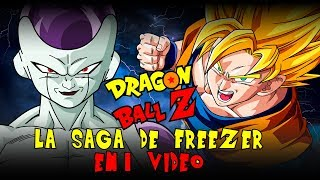 Dragon Ball Z Saga Freezer: La Historia en 1 Video