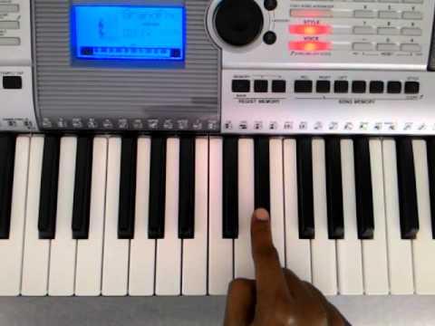 Ajeeb Dastan Hai Yeh Keyboard Tutorial Youtube