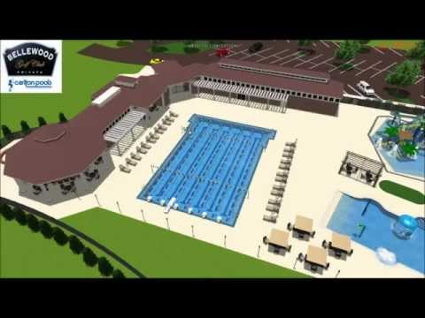 Bellewood Country Club Pool.wmv