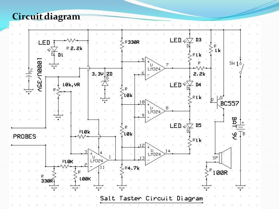 salinity measurement meter or salt taster measurement for human body rh youtube com Circuit Diagram Symbols AC Circuit Diagram