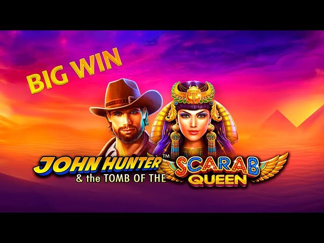 BIG WIN ON JOHN HUNTER & THE TOMB OF THE SCARAB QUEEN (Pragmatic Play)