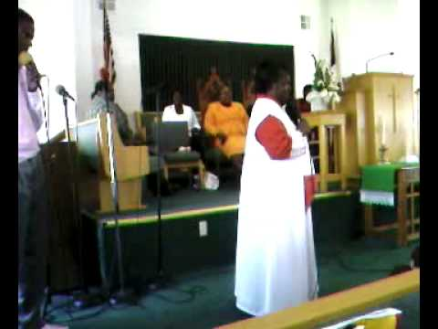Pastor Hazel Brown at New Covenant SOP Pt.2