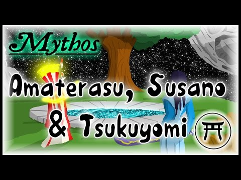 Amaterasu, Susanoo, Tsukuyomi - Mythos Japonais #02
