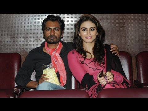 Nawazuddin Siddiqui & Huma Qureshi On A Matinee Date - Watched DDLJ