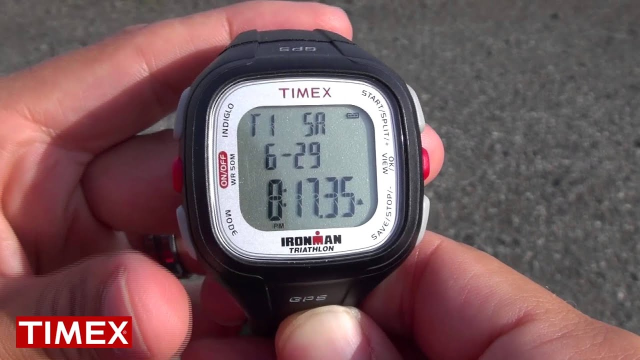 ed8145a66d6d How To Use  Timex Ironman Easy Trainer GPS Sports Watch - YouTube
