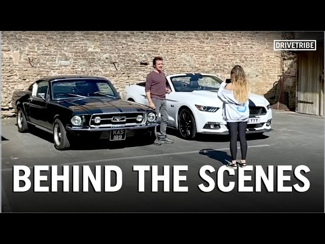 Richard Hammond's daughter takes you behind the scenes of the Mustang shoot