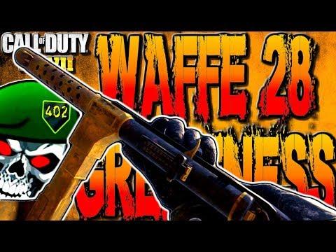 WAFFE 28 BEST CLASS SETUP FREE FOR ALL! COD WW2 WAFFE 28 BEST CLASS SETUP IN COD WORLD WAR 2 FFA!