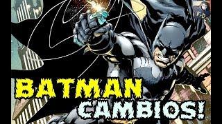 BATMAN SERA CAMBIADO EN LOS COMICS PARA ADAPTARSE A LA PELICULA DE MATT REEVES