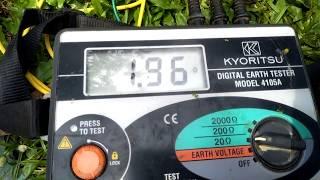 Tutorial/cara pengukuran Kabel Grounding untuk Anti petir