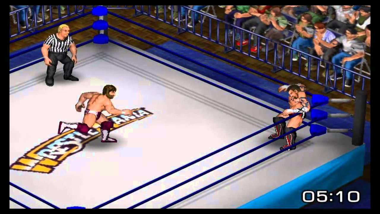 fire pro wrestling returns - cm punk vs daniel bryan