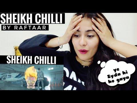 Sheikh Chilli  Raftaar Yeh Diss Gaananahi Hai  Reaction  Illumi Girl