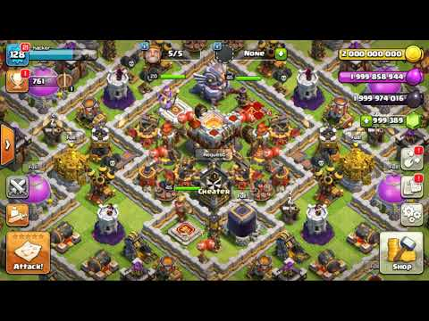 Clash of clan HACKED MOB APK FILE DOWNLOAD