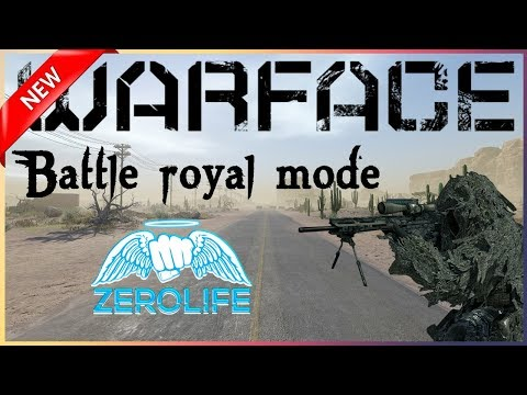 Warface NEW battle royal first WIN! 4th game